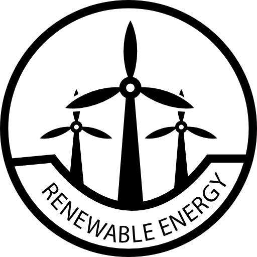 Renewable Energy Label Icons Free Download