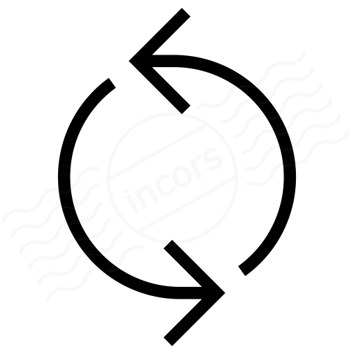 Iconexperience I Collection Arrow Circle Icon