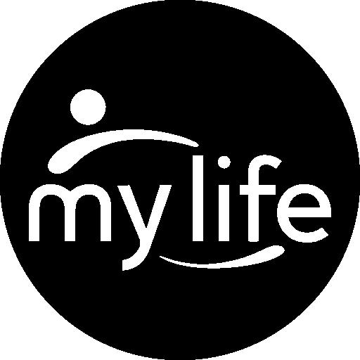 My Life, Logotype, Logo, Symbol, Logotypes, Social, Social Normal