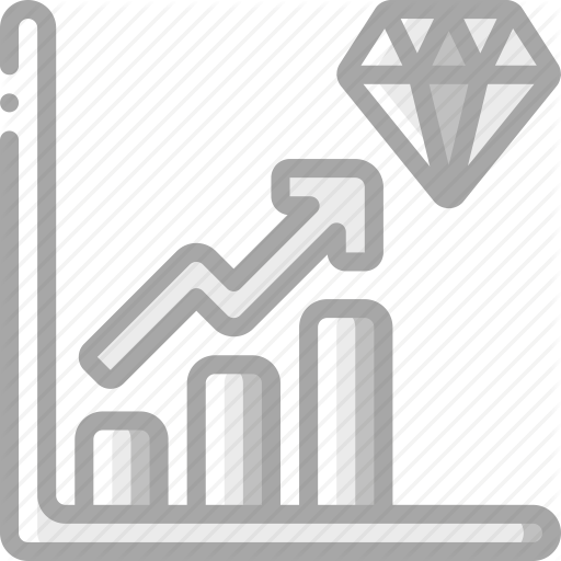 Banking, Diamond, Finance, Money, Profit, Reserve Icon