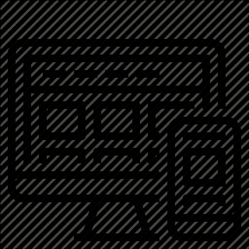 Design, Development, Responsive, Web Icon