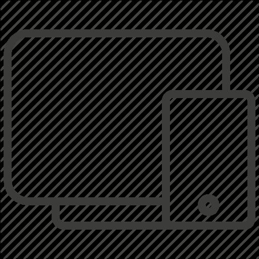 Design, Layout, Responsive, Web Icon