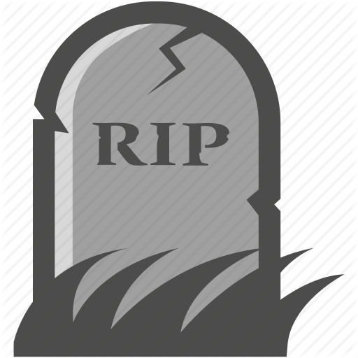 Grave, Gravestone, Haunted, Headstone, Rest In Peace, Rip, Spooky Icon