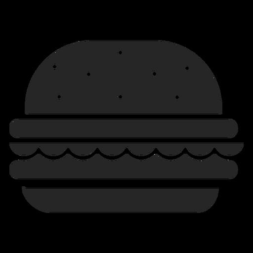 Hamburger Flat Icon Restaurant Icons