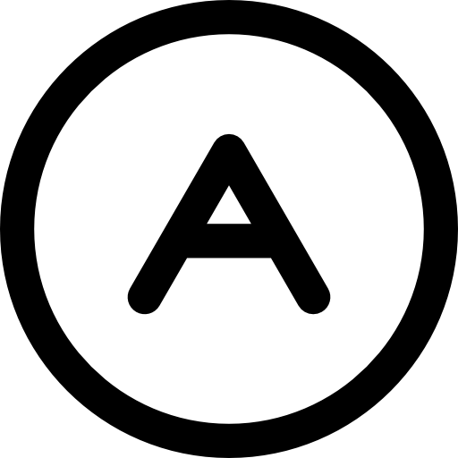 Letter A, Capital A, Education, Exam Results, Results Icon