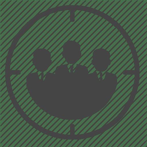 Target Customer Icon Audience Innovation