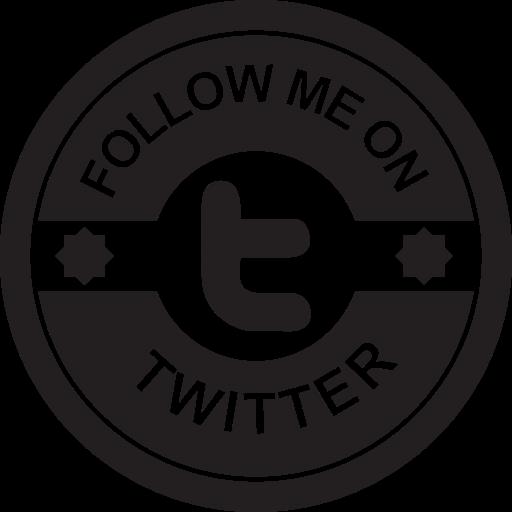 Badges, Twitter Badge, Social Badge, Retro Badge, Badge, Social