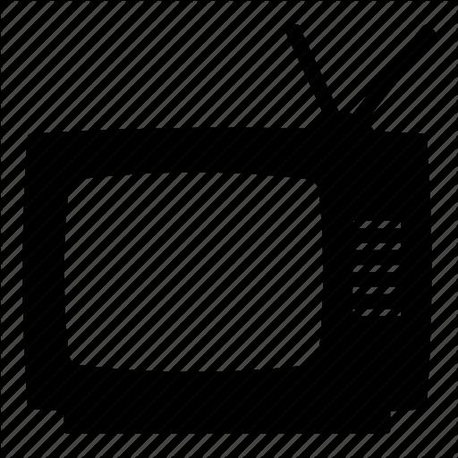 Old Tv, Retro, Retro Tv, Television, Tv, Vintage, Vintage Tv Icon