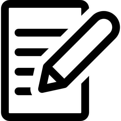 Write A Review Icon Png