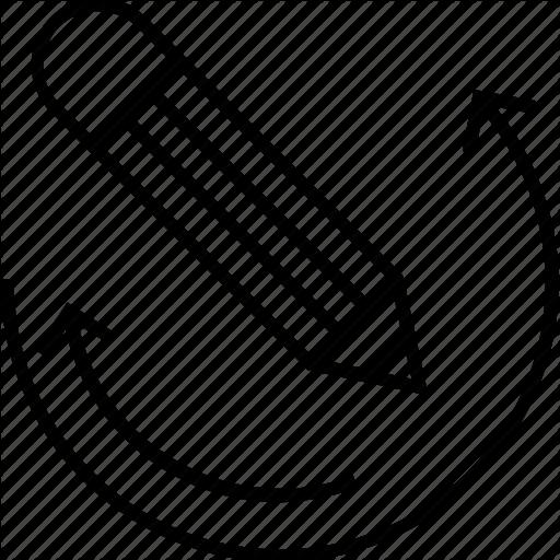 Media, Pencil, Revision, Undo, Version Control Icon