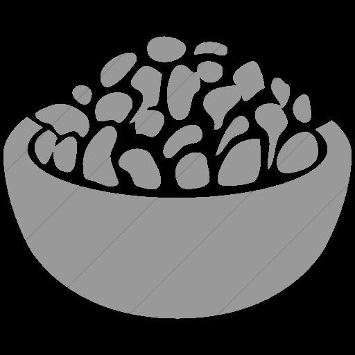 Simple Light Gray Ocha Humanitarians Food Nfi Rice Icon