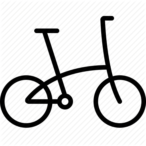 Bike, Cycling, Folding, Folding Bicycle, Folding Bike, Ride Icon