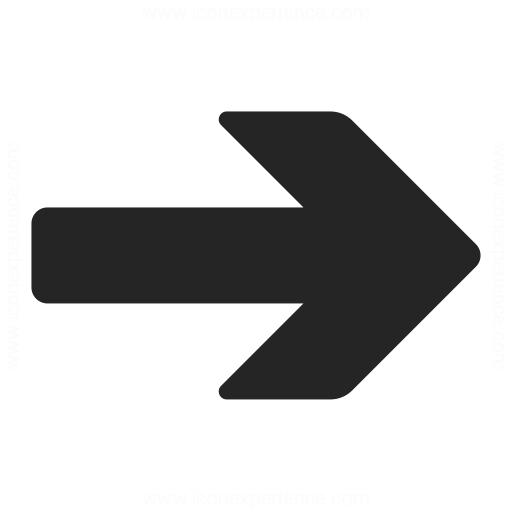 Arrow Right Icon Iconexperience