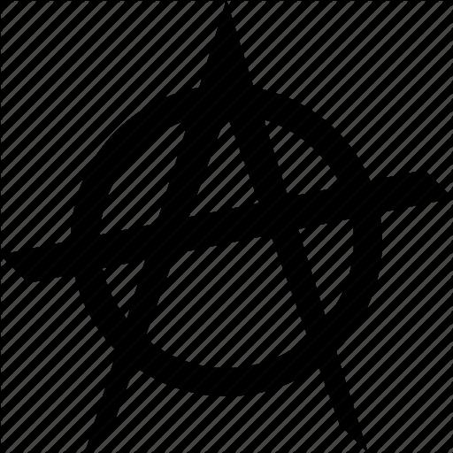 Anarchist, Anarchy, Punk, Rebellion, Revolution, Riot Icon