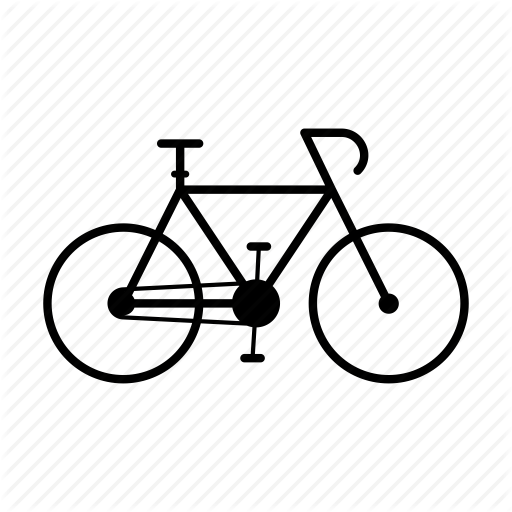 Bicycle, Bike, Citybike, Cyclist, Road Icon