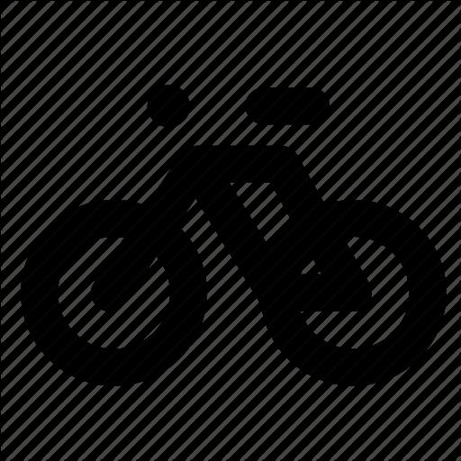 Bicycle, Bike, Commute, Road Bike, Transport, Travel, Trip Icon