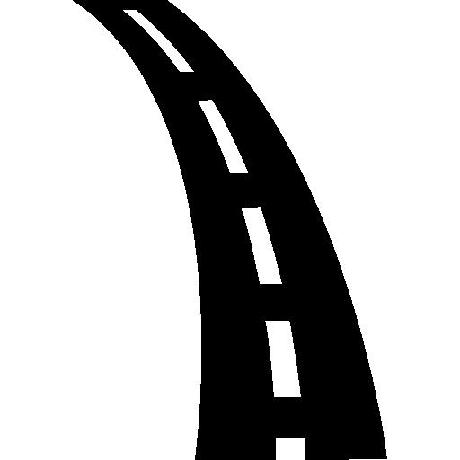 Road Slight Curve