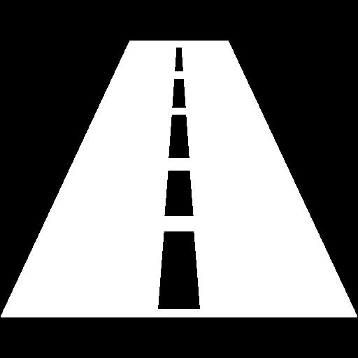 White Road Icon