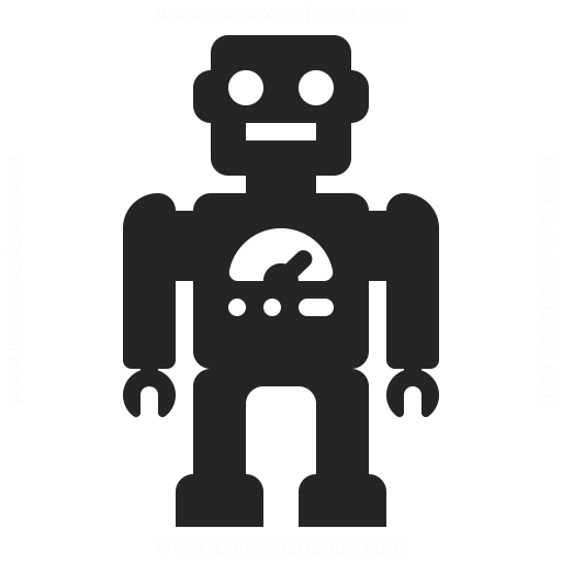 Robot Icon Iconexperience