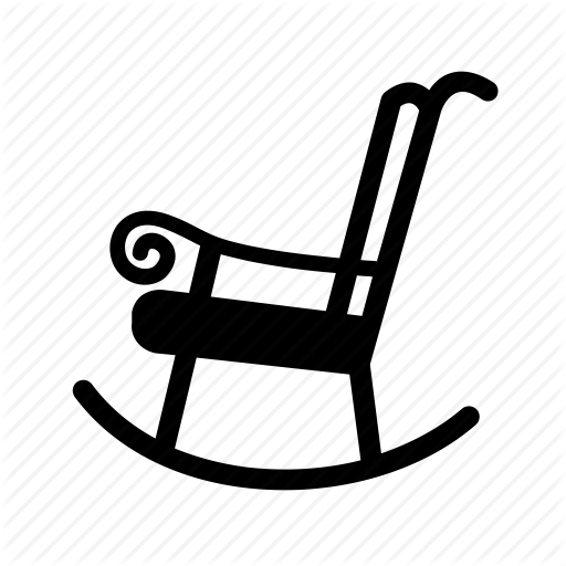 Chair, Furniture, Household, Rocker, Rocking Chair, Sit Icon