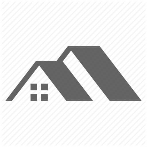 Architecture, Building, Home, House, Residential, Roof Icon