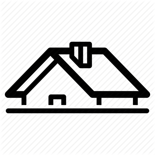 House, Housing, Neighbor, Property, Real Estate, Roof, Roofing Icon