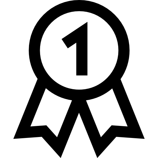 First Place Medal Icons Free Download