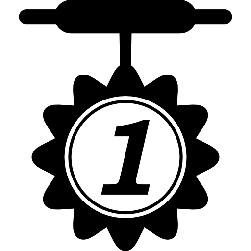Medal For Number Icons Free Download
