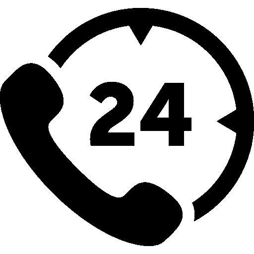 Round Phone Icon