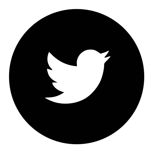 Twitter, Circle Icon