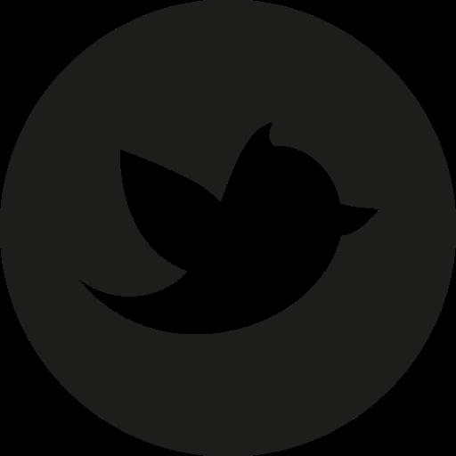 Twitter Black Circle Logo Png Images