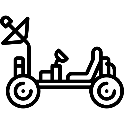 Moon Rover Icons Free Download