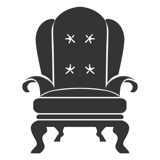 Royal Armchair Flat Icon