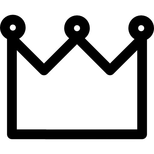 Royal Crown Of A Queen Or King Icons Free Download
