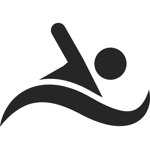 Swimmer Icon Clip Art Free Clipart Collection