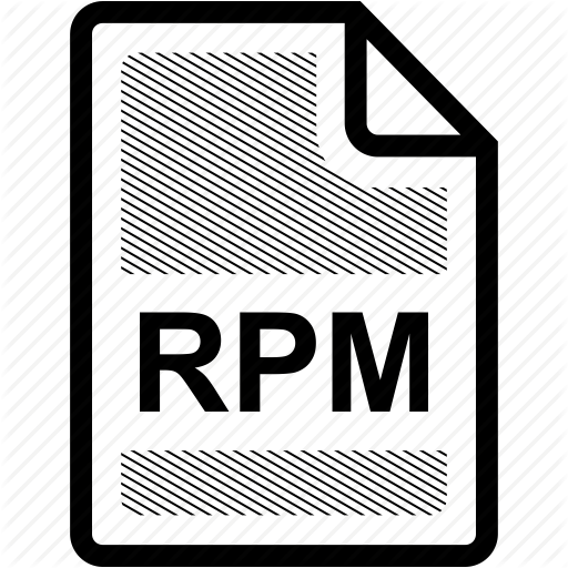 Extension, File, Format, Format, Rpm, Rpm File, Type Icon