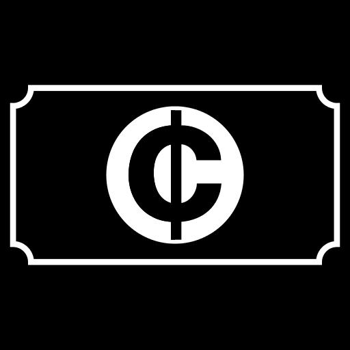 Ghana Cedi Icon