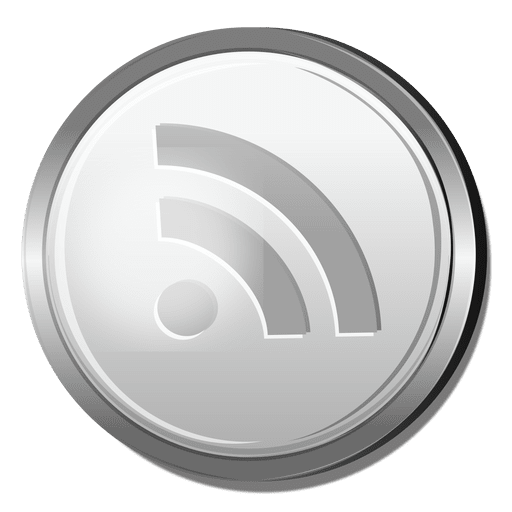 Rss Silver Icon