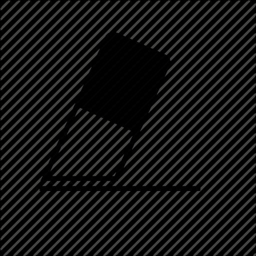 Delete, Erase, Rubber Icon