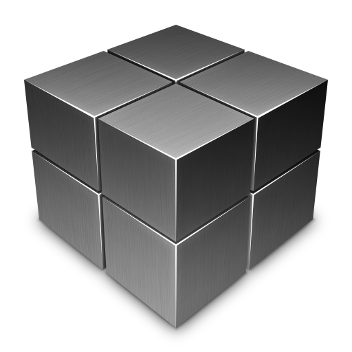 Dark Cube Off Icon