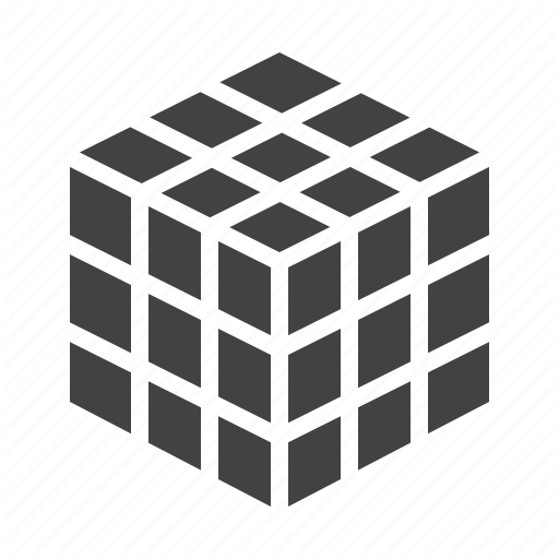 Cube, Magic, Puzzle, Rubik, Solution Icon