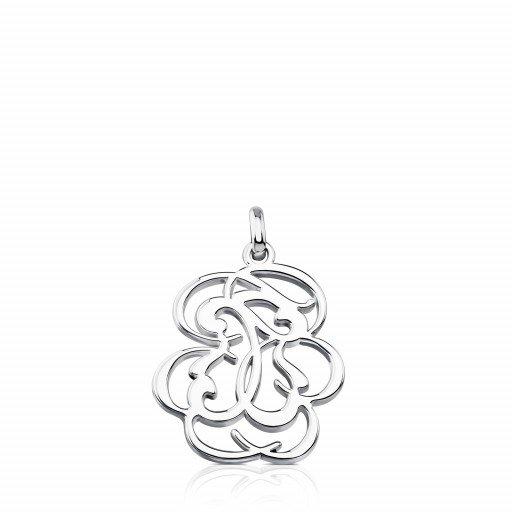 Silver Rubric Pendant