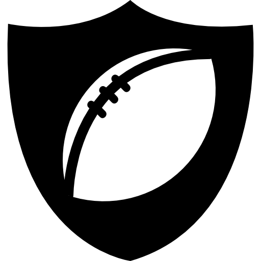 Rugby Ball Badge Icons Free Download