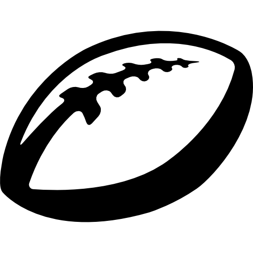 Ball Of Rugby Icons Free Download
