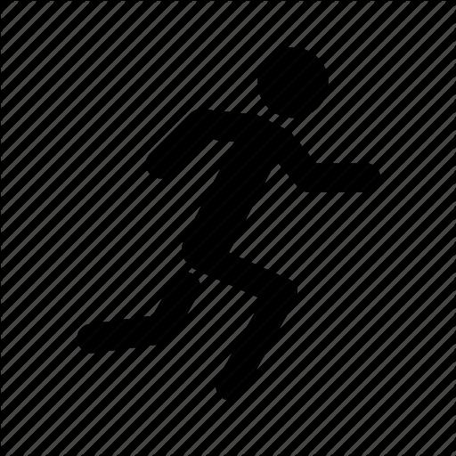 Escape, Exit, Man, Run, Running Icon