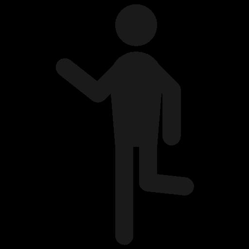 Hangout, Hanging, Run, Man, Human, Behaviour Icon Free Of Human