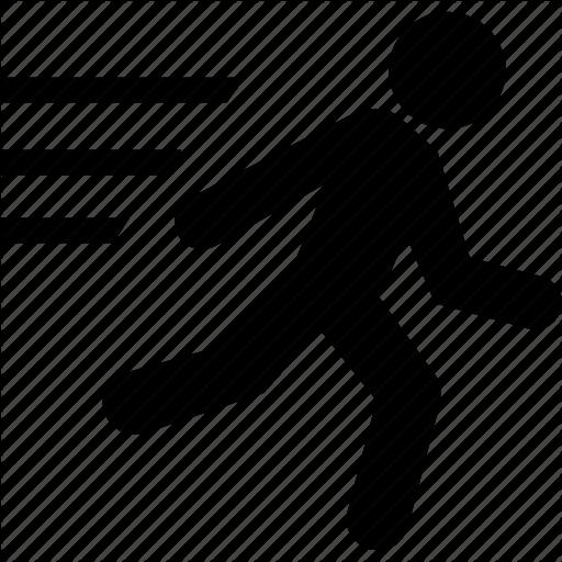 Man, Person, Run, Runner Icon