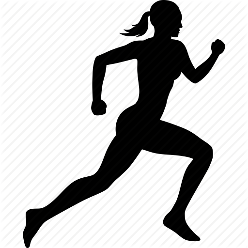 Running Exercise Icons Images