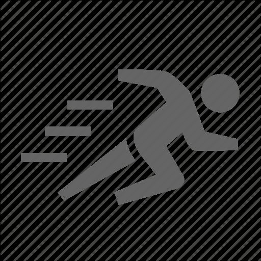Fast, Human, Hurry, Mode, Rush, Sport Icon
