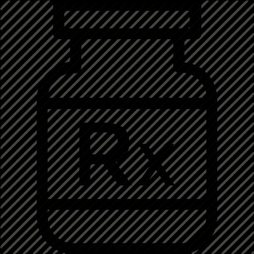 Medical, Medicine, Medicine Jar, Prescription, Rx Icon